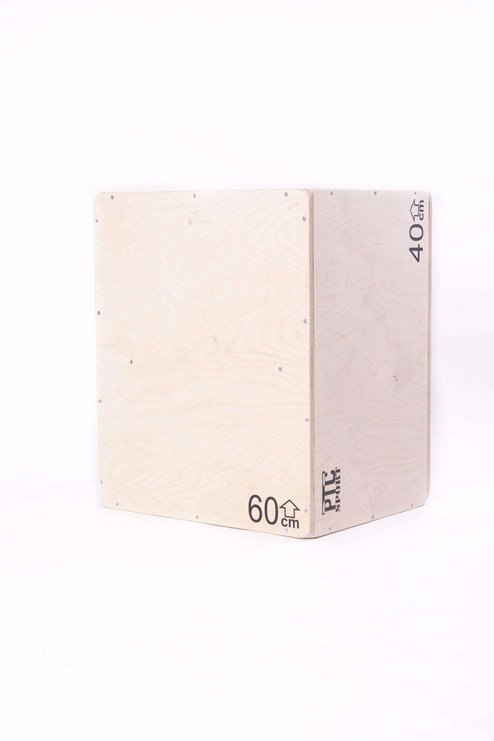 Skrzynia plyometryczna crossfit 60cm x 50cm x 40cm